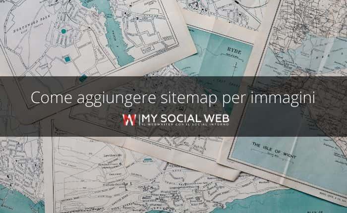 sitemap per immagini