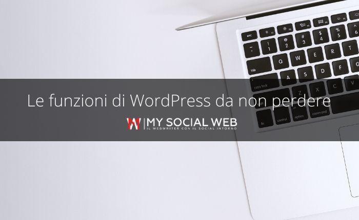 funzioni WordPress