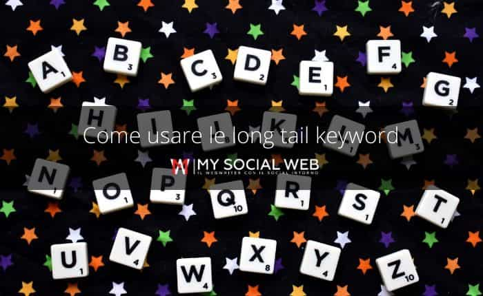 long tail keyword nel piano editoriale