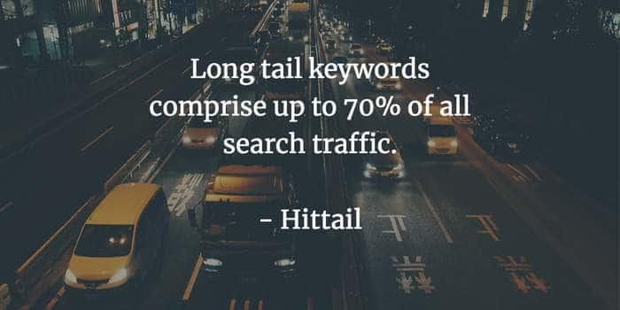le long tail keyword fanno traffico.