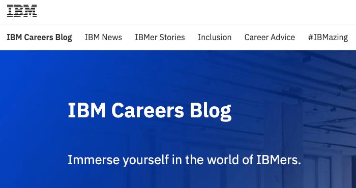 ibm blog aziendale
