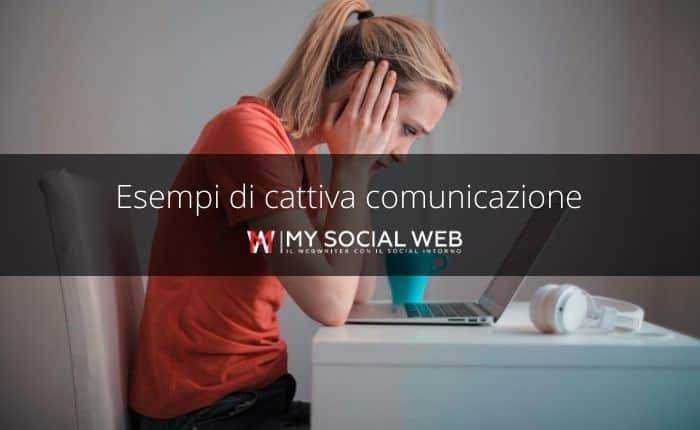 cattiva comunicazione