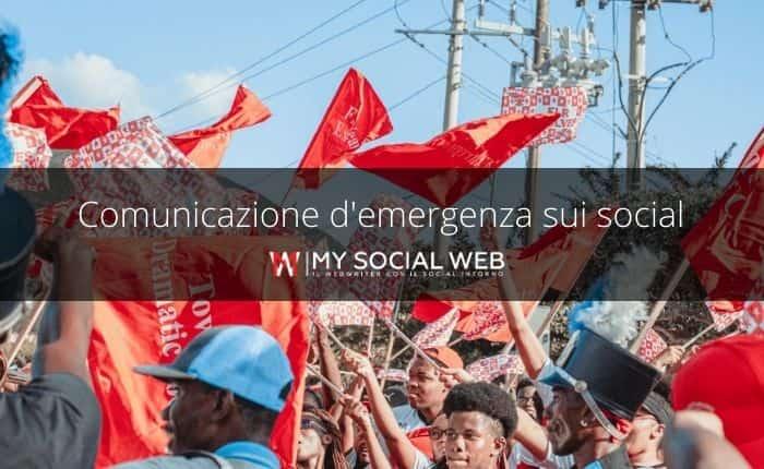 comunicazione d'emergenza