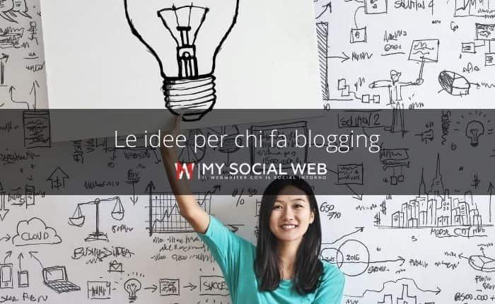 idee per un blog