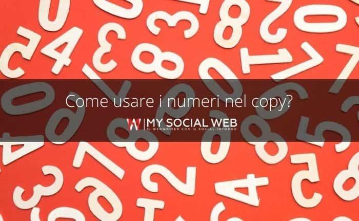 Come usare i numeri nel copywriting
