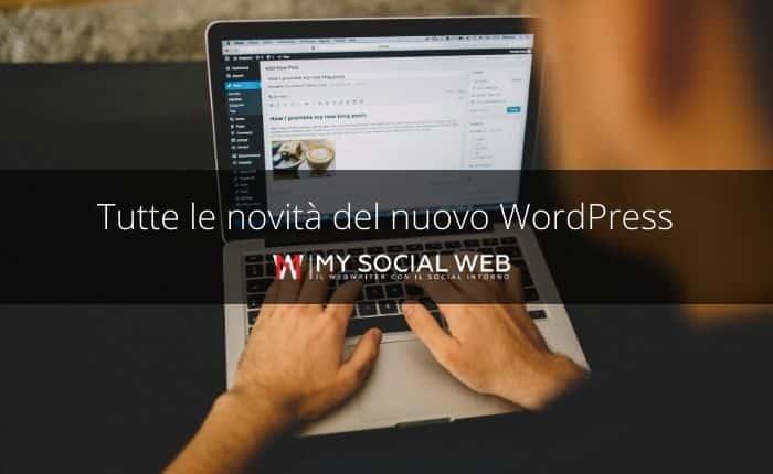 Tutte le novità di WordPress 5.5