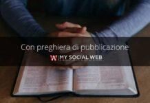 con preghiera di pubblicazione