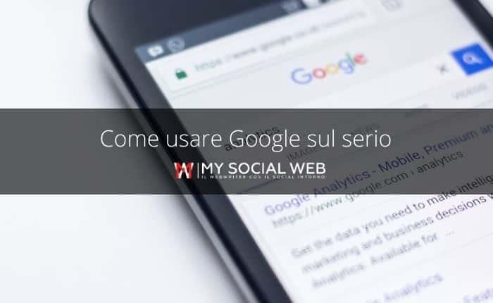 Cosa posso fare con google?