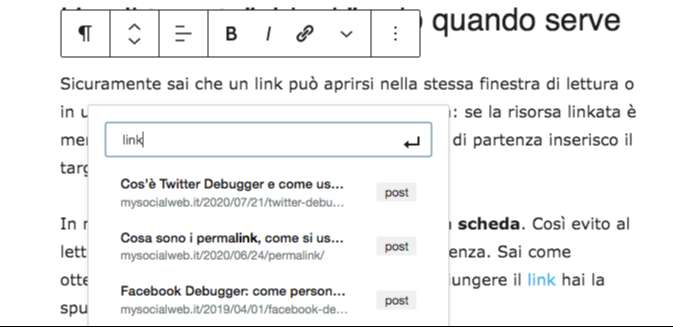 trucchi wordpress