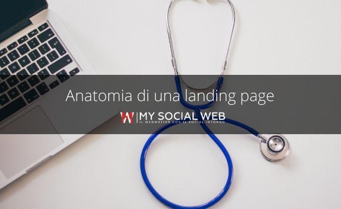 Anatomia di una landing page