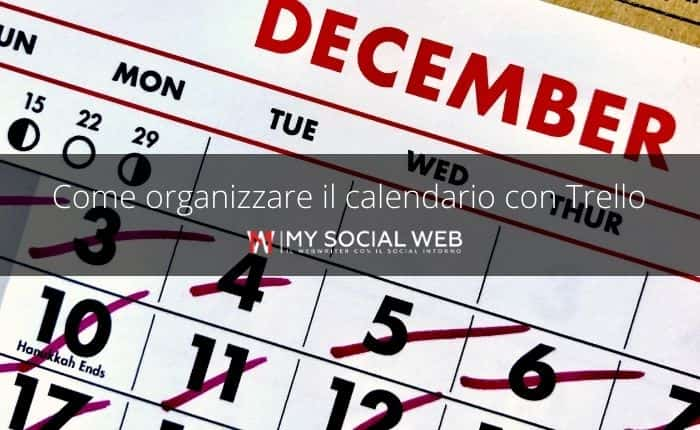 Come creare un calendario editoriale con Trello