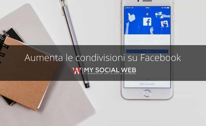 Come migliorare le condivisioni Facebook.