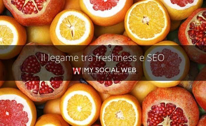 Freshness e SEO
