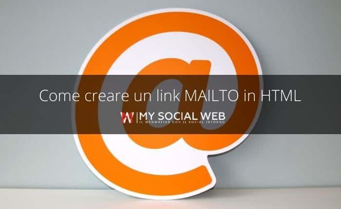 Come creare un link MAILTO