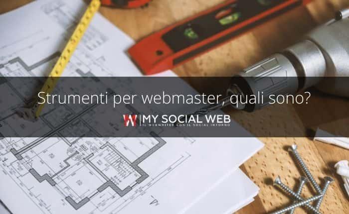 strumenti di webmaster