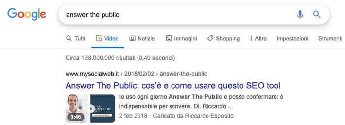 google video funziona
