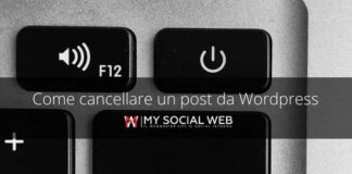 come eliminare un post da WordPress