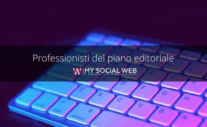 professionisti del piano editoriale