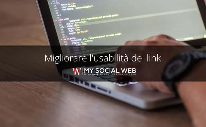 usabilità dei link