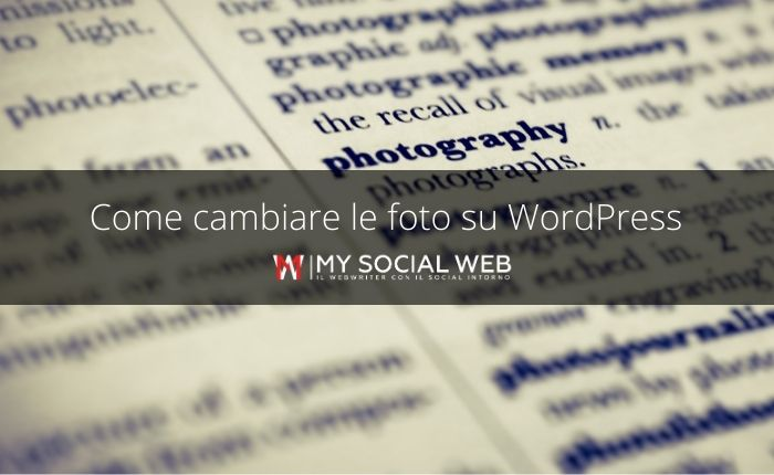 come modificare un'immagine su WordPress