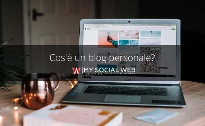Cos'è un blog personale? Un diario?