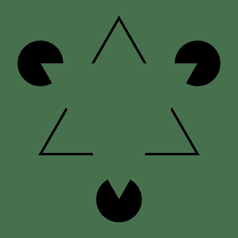 Triangolo di Kanizsa - contenuti visuali