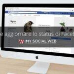 Cos'è lo status del profilo Facebook