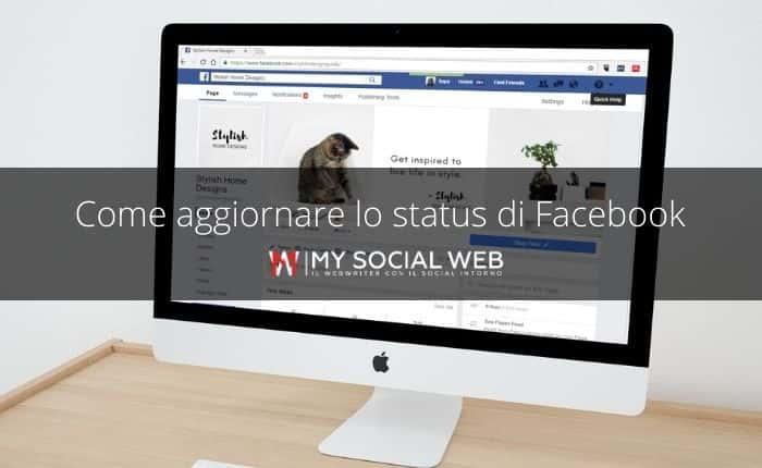 status del profilo Facebook