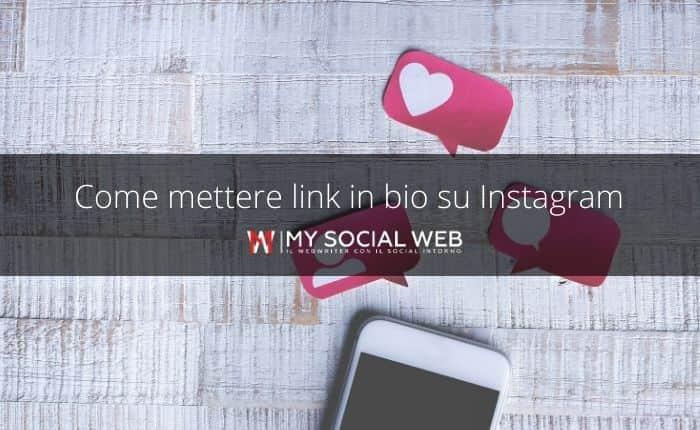 come mettere link in bio instagram