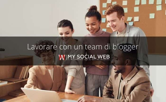 lavorare a distanza con altri blogger