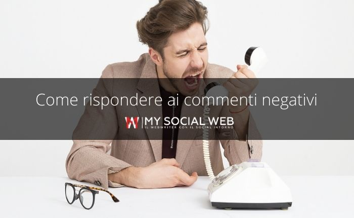 Come rispondere a un commento negativo