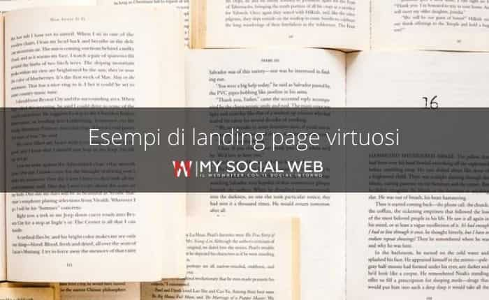 esempi di landing page efficaci
