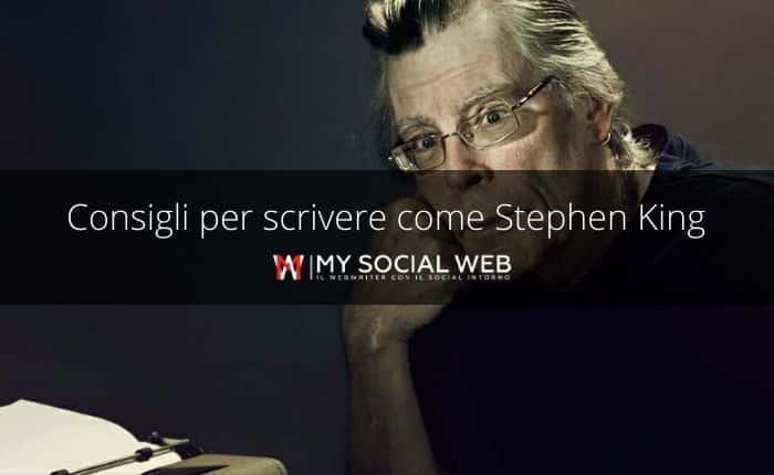 consigli per scrivere firmati da Stephen King