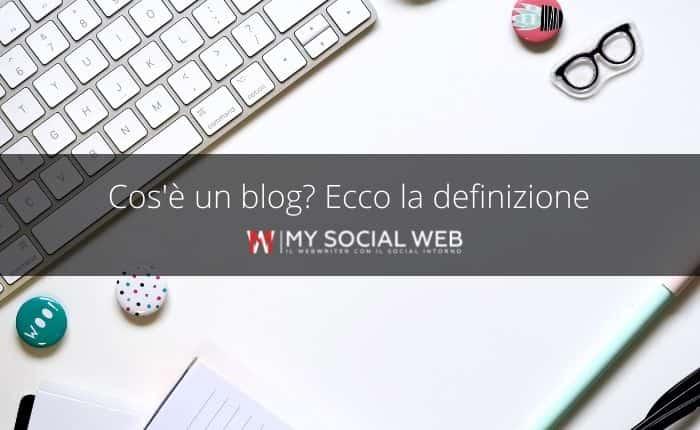 Cosa è un blog