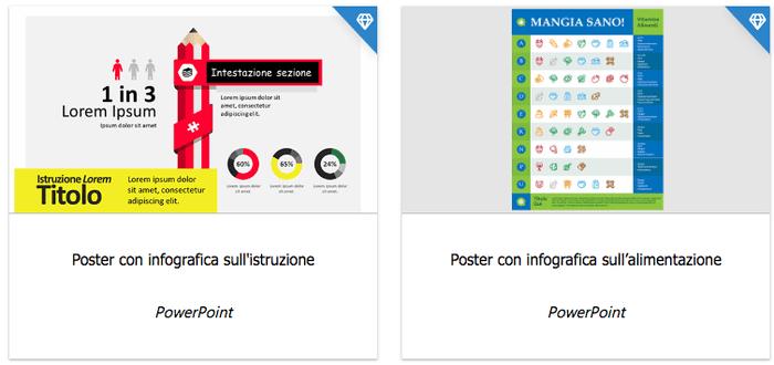 crea infografiche con powerpoint