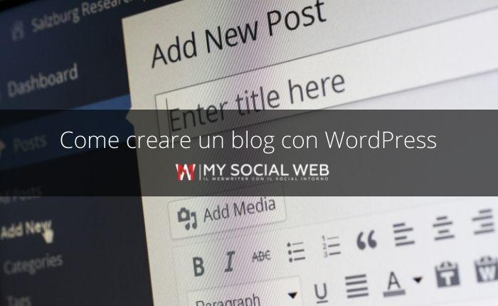 Come creare un blog WordPress