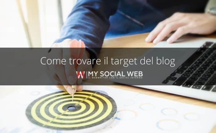 Come trovare il target del blog